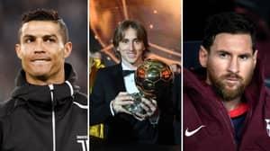 Luka Modrić Attacks Lionel Messi and Cristiano Ronaldo Over Ballon d'Or Absence