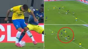Roberto Firmino Robbed Of Assist Of The Summer With Audacious Flick To Neymar