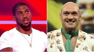 Anthony Joshua Sends Violent Warning To Tyson Fury And Predicts How The Fight Will Go