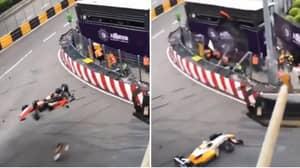 Slow Motion Footage Of Sophia Floersch's Crash Is Frightening