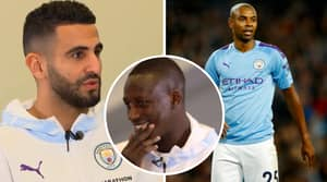 Riyad Mahrez Seems To Have Accidentally Revealed Fernandinho's Man City Departure