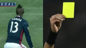 New England Revolution's Kei Kamara Booked For Twerking In MLS Game