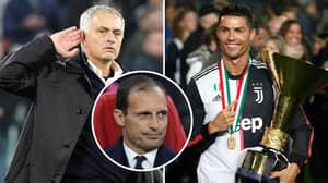 Cristiano Ronaldo Wants José Mourinho To Become The Next Juventus Manager