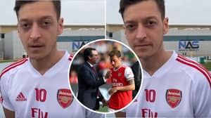 Mesut Ozil's Hilarious Response To Difference Between Unai Emery And Mikel Arteta