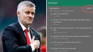 Punter Pockets £7,500 From Absurd Custom-Made Bet On Manchester United Match