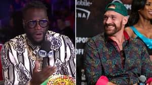 Deontay Wilder Fires Back At Tyson Fury Over Step Aside Comments