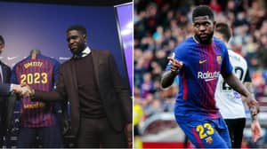 Samuel Umtiti's New Contract Includes A Ridiculous €500 Million Release Clause
