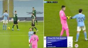 Ederson Turned Away From Penalty By Bernardo Silva After Immediately Stepping Up Against Tottenham