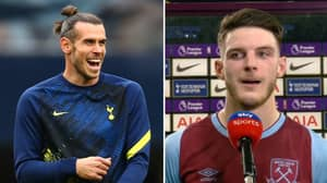 Declan Rice Reacts After Spurs Fan's Tweet About Gareth Bale And Manuel Lanzini Ages Terribly