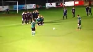 This 'Inventive' Second Wall Free-Kick Routine Went Horribly Wrong