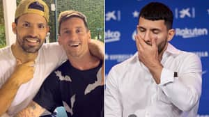 Barcelona Suffer Huge Sergio Aguero Blow As Lionel Messi Nears Transfer To PSG