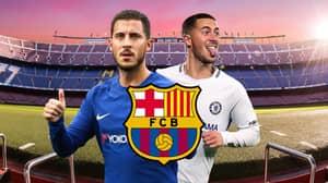 Barcelona Reach Out To Chelsea Regarding The Transfer Of Eden Hazard