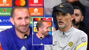 """Giorgio Chiellini Ruthlessly Jokes About Playing Chelsea: """"Easiest Game We Will Play In Recent Weeks"""""""