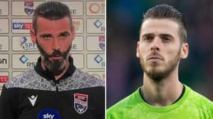 Ross County Manager Reacts After David De Gea Tweets About Them Looking Alike