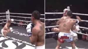 Tenshin Nasukawa Rebounds From Floyd Mayweather Loss With Stunning Cartwheel Kick Knockout