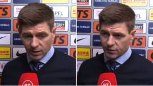 Steven Gerrard Takes Dig At Celtic As His Rangers Team Bottle The League Title