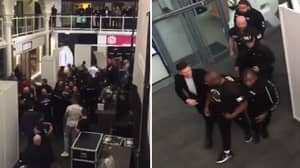 Dereck Chisora Kicks Off Backstage Carnage Ahead Of Dillian Whyte Fight