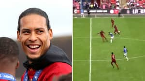 Virgil Van Dijk's Record Of Not Being Dribbled Past Still Stands