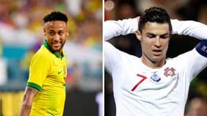 Neymar Averages More International Goals Per Game Than Cristiano Ronaldo