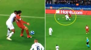 In The Space Of 15 Seconds, Mohamed Salah And Dejan Lovren Both Dive Vs. PSG