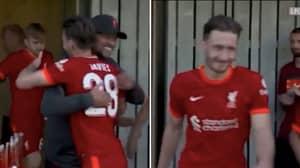 Liverpool Fans Loved Jurgen Klopp's Heartwarming Gesture To Ben Davies On Debut