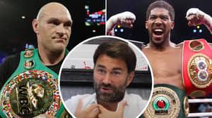Eddie Hearn Responds To Rumours Of Anthony Joshua Vs Tyson Fury Costing £49.95