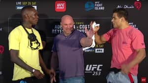 Israel Adesanya Stars As UFC Release 'Best Faceoffs Of 2020' Video