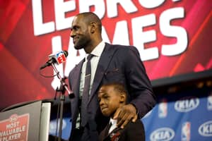 LeBron James' 11-Year-Old Son Has Already Been Offered Scholarships