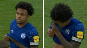 Schalke Midfielder Weston McKennie Wears 'Justice for George' Armband To Remember George Floyd