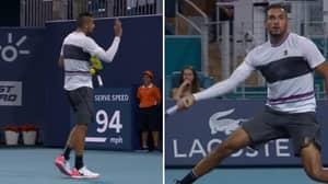 Nick Kyrgios Went Fully Nick Kyrgios In Miami Open Win