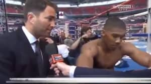 Eddie Hearn's Brilliant Prediction About Anthony Joshua Back In 2014