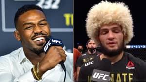 Jon Jones Reacts To Khabib Nurmagomedov's Pound-For-Pound Push After UFC 254 Win