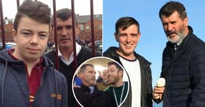 Roy Keane Angrily Posing For Fan Photos Is The Best Thing You'll See Today