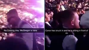 People Reckon They Spotted Conor McGregor In The Crowd At UFC 223