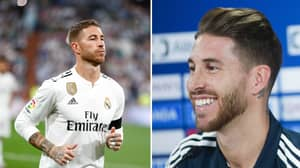 Sergio Ramos Says He Wants To Retire At Real Madrid