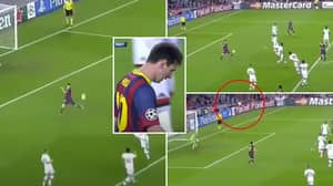 Lionel Messi Proved He Lives In A Simulation With 'Greatest Goal That Never Was' Vs Milan