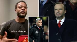 Patrice Evra Launches Emotional 20-Minute Attack On Manchester United And Fans Think It Is Spot On