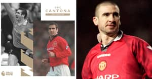 Manchester United Legend Eric Cantona Joins Premier League Hall Of Fame