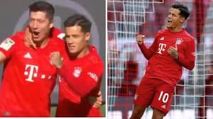 Philippe Coutinho Scores And Assists In Man Of The Match Performance For Bayern Munich