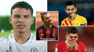 Chelsea Star Thiago Silva Names The 10 Toughest Opponents In His Playing Career