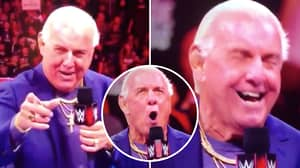 Ric Flair To WWE Fan Live On Monday Night Raw: 'I Used To Know Your Mother'