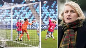 Chelsea Women's Boss Emma Hayes Puts Forward Fantastic Case For Smaller Nets In Women's Game