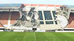 AZ Alkmaar's Stadium Roof Collapses After High Winds