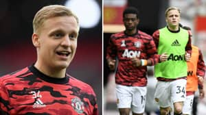 Donny Van De Beek Urged To Leave Manchester United After Being Told The Club 'Might Be A Step Too High For Him'
