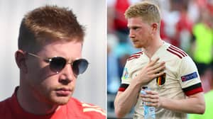 Kevin De Bruyne Admits He's Still Unable To 'Feel Anything On The Left Side' Of His Face
