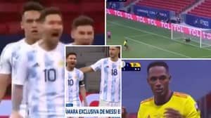 Lionel Messi Ruthlessly Taunts Yerry Mina After Missed Colombia Penalty vs Argentina In Copa America Semi-Final
