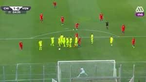 WATCH: Alexis Sanchez Scores Incredible Free Kick Against Venezuela