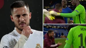 Eden Hazard Breaks Silence After Controversially Joking Around With Chelsea Players In Real Madrid Defeat