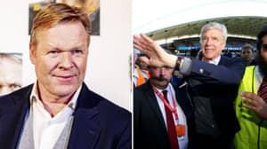 Arsene Wenger Wants Return To Management To Replace Barcelona Bound Ronald Koeman