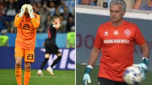Jose Mourinho's Brutal Assessment Of Willy Caballero After Iceland Game Was Probably True
